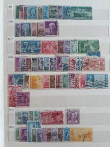 Známky USA (1160 ks)