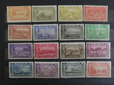 Bahamy 1948 - komplet, 300 let osídlení ostrova Eleuthera 75£