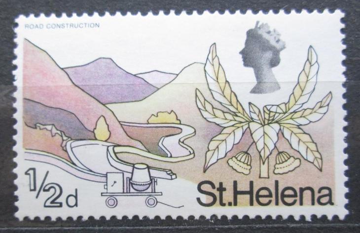 Svatá Helena 1968 Stavba silnice Mi# 196 2018 - Filatelie