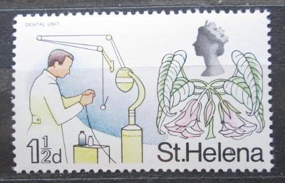 Svatá Helena 1968 Zubař Mi# 198 2018