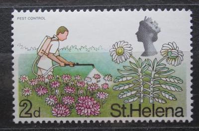 Svatá Helena 1968 Boj se škůdci Mi# 199 2018
