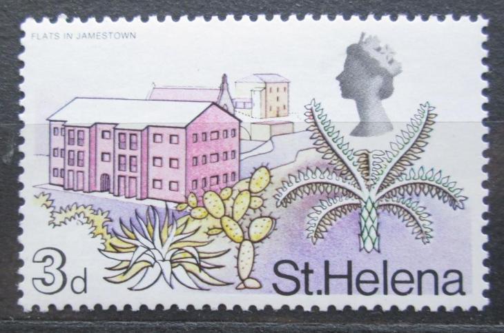 Svatá Helena 1968 Bytová výstavba Mi# 200 2018 - Filatelie
