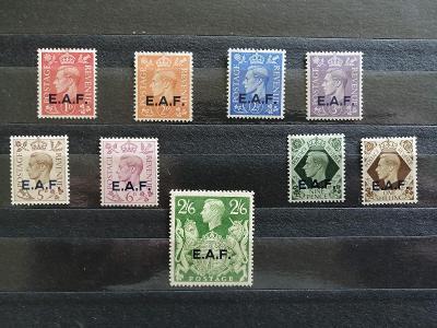 Britská okupace italského Somálska 1943 - hledaný komplet 55£