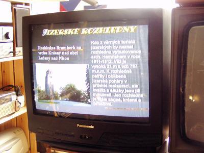 TV Panasonic - barevná televize