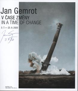 Jan Gemrot - V čase změny, katalog výstavy v Galerii Adolf Loos 2020