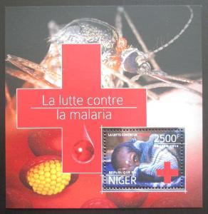 Niger 2014 Boj proti malárii Mi# Block 394 Kat 10€ 1982