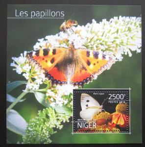Niger 2014 Motýli Mi# Block 379 Kat 10€ 2019