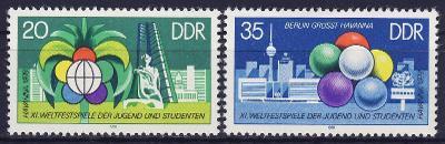 DDR 1978 **/ Mi. 2345-6 , komplet , /BL/