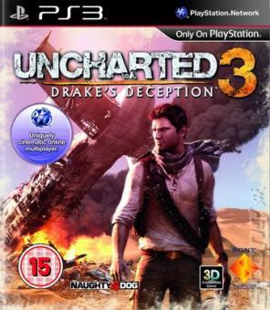 PS3 UNCHARTED 3 : DRAKE'S DECEPTION CZ TITULKY