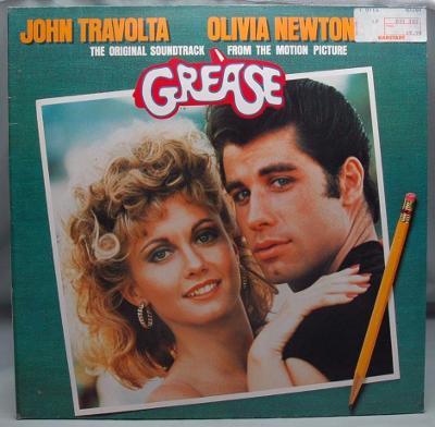 OST Grease 1978 Germany Vinyl 2LP 1.press