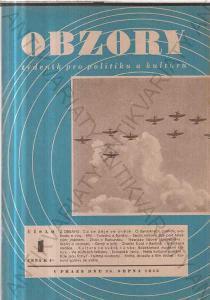 Obzory ročník I., č. 1-17 1945