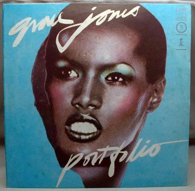 Grace Jones – Portfolio 1977 Italy Vinyl LP 1.press