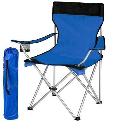 tectake 401054 kempingová židle - modrá