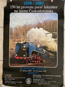 150 let provozu parní železnice - lokomotiva