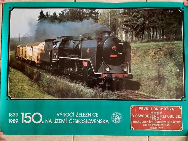 150 let provozu železnice - parní lokomotiva - Ostatní