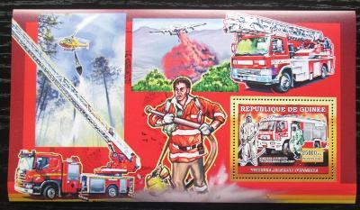Guinea 2006 Němečtí hasiči DELUXE Mi# Block 1071 0942