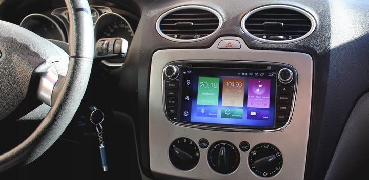 Autorádio s navigací pro FORD GALAXY 2006-2015 - TV, audio, video