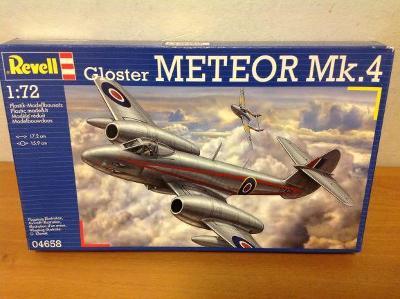 REVELL - Gloster METEOR Mk. 4, 1/72