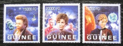 Guinea 2013 Valentina Těreškovová Mi# 9902-04 Kat 20€ 2025
