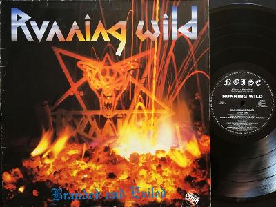 Running Wild Branded And Exiled VG+/VG, 1985, LP
