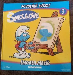 Šmoulové (3) - Šmoula malíř (Povolání světa)