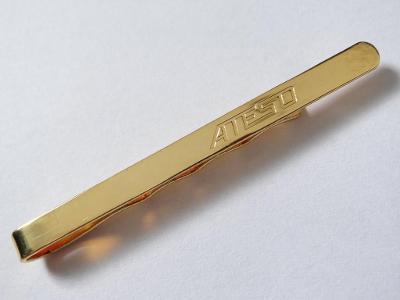 SPONA DO KRAVATY, luxus, obecný kov.