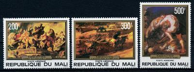 Mali 1978 , ✈ , **/Mi. 615-7 , Rubens , komplet , /L20/