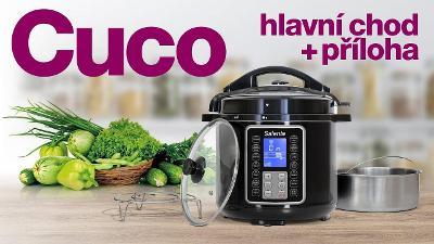 Salente Cuco, multifunkční hrnec, zdravé vaření