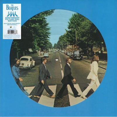 BEATLES - ABBEY ROAD / PICTURE DISC / zapečetěné nehrané