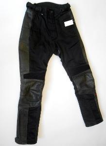 """Textilní kalhoty s kůží dámské """"HEIN GERICKE"""" vel. S/36"""
