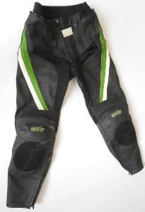 """Kožené kalhoty """"RST"""" vel.S/48, Chrániče kolen, odřené koleno"""