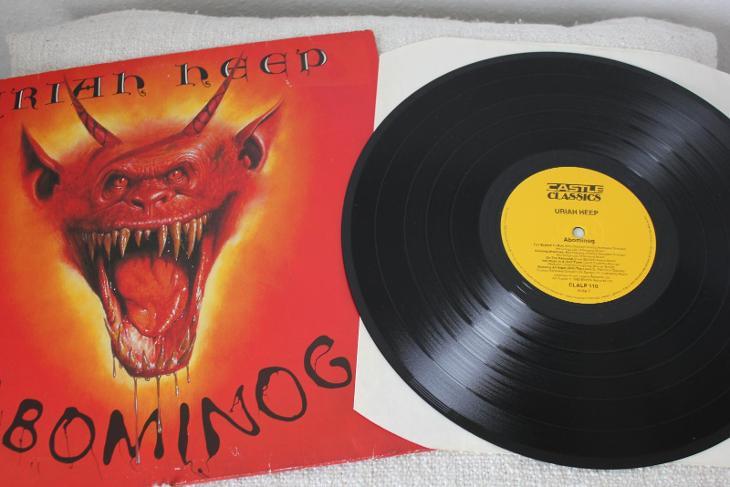 Uriah Heep Abominog Lp 1982 Vinyl Super Stav Ex Classic Rock Aukro