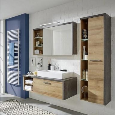 Koupelnová sestava BAY, 4 dílná (20809A) DOPRAVA ZDARMA