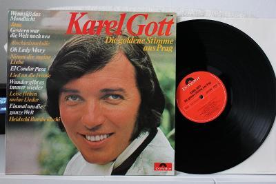 Karel Gott – Die Goldene Stimme vinyl Germany 1.press super stav NM