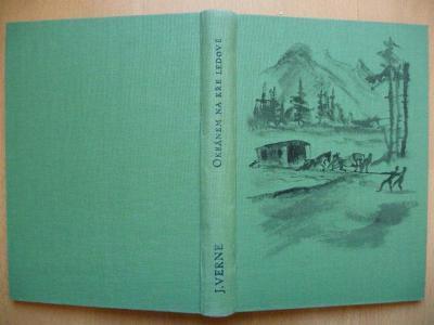 Julius Verne - Okeánem na kře ledové  - J. R. Vilímek