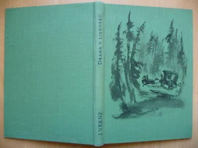 Julius Verne - Drama v Livonsku  - J. R. Vilímek - 1926