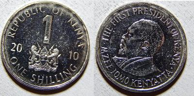 Kenya 1 Shilling 2010 XF č31098