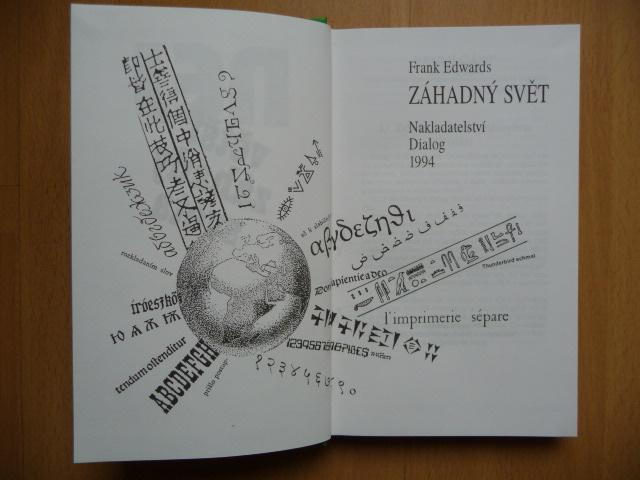 Největší záhady světa - Záhadný svět - Frank Edwards - 1994 - Knihy