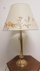 Velká stylová stolní lampa