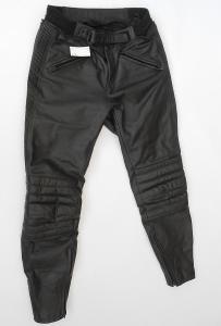 """Kožené kalhoty """"TAKAI"""" vel. M/50, Pěkný stav, Kapsy na chrániče"""