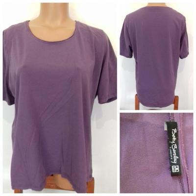 Tričko / Triko fialové Betty Barcay, vel. 48 L/XL