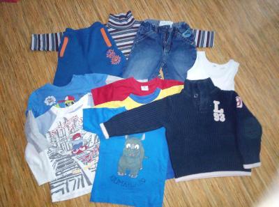 oblečení na kluka 43 ks ,vel.98-104,pěkný stav