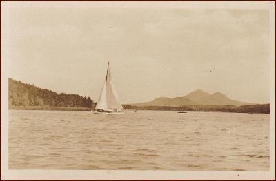 Doksy (Staré Splavy) * jezero, plachetnice, lodě * Česká Lípa * M677