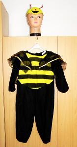 8976 ČMELÁK - karnevalový kostým pro děti vel.104