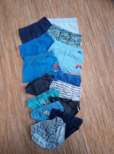 oblečení na kluka - slipy,boxerky,ponožky ,43 ks , velikost v popisu