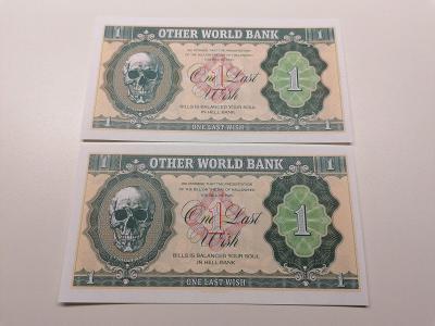 1 Last Wish, Other World Bank, A + Z 187, stav N