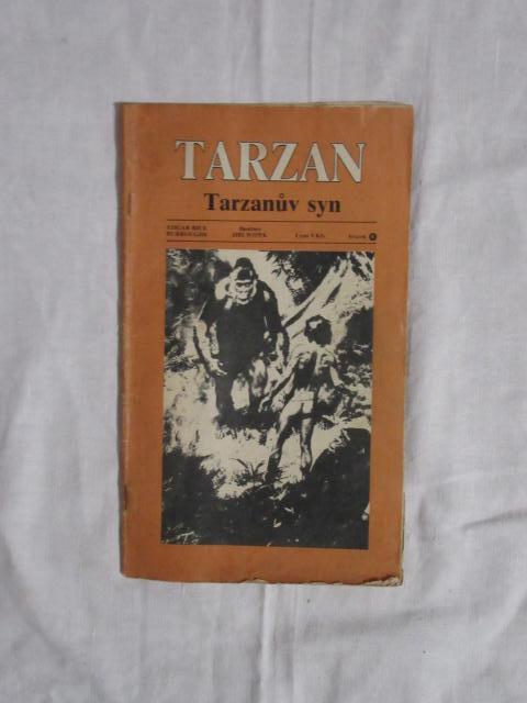 Edgar Rice Burrough - Kniha Tarzanův syn 1990 !!! - Knihy