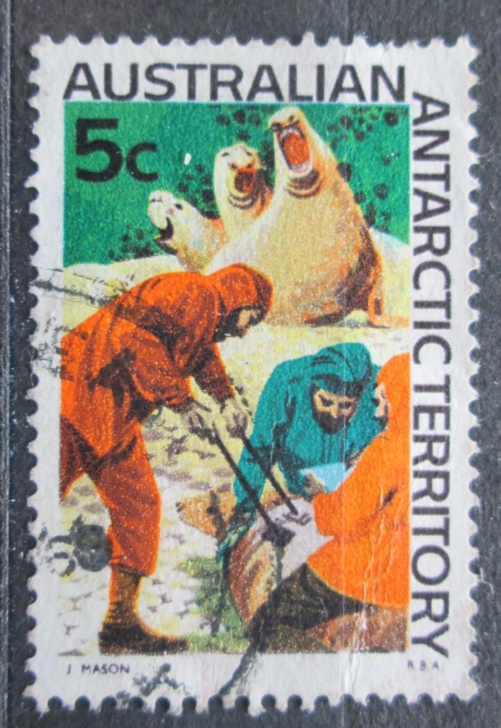 Australská Antarktida 1968 Rybáři Mi# 11 2020 - Filatelie