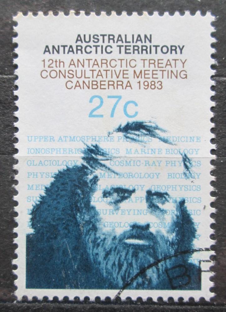 Australská Antarktida 1983 Polární badatel Mi# 60 2022 - Filatelie