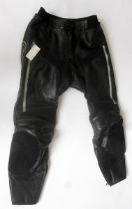 """Kožené kalhoty """"corax"""" vel. L/52, Chrániče kole a boků"""